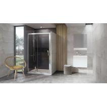 Душевые двери Ravak 10DP2-100 Белый TRANSPARENT