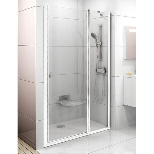 Душевые двери Ravak CSD2- 110 Белый TRANSPARENT