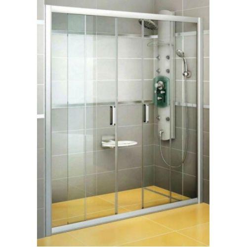 Душевые двери Ravak BLDP4- 130 Полированый алюминий TRANSPARENT