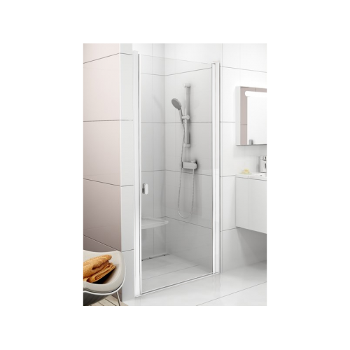 Душевые двери Ravak CSD1- 80 Белый TRANSPARENT