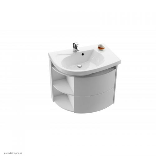 Шкафчик под умывальник Ravak SDU Rosa Comfort R, Белый/Белый