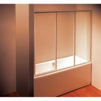 Штора для ванны Ravak AVDP3- 170 Белый TRANSPARENT