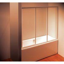 Штора для ванны Ravak AVDP3- 120 Белый TRANSPARENT