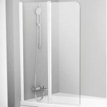 Штора для ванны Ravak 10 CVS2-100 L Полир. алюм. TRANSPARENT
