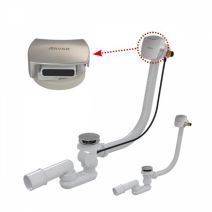 Сифон для ванны Ravak c заполнением переливом 570мм (X01438)