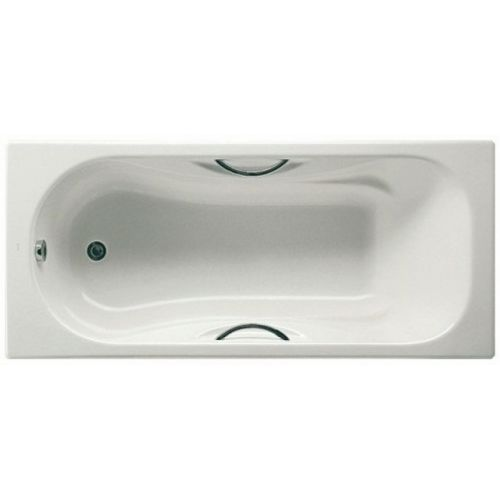 Ванна чугунная Roca MALIBU 160*75см с ручками, без ножек