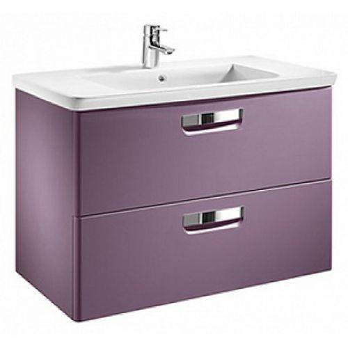 Тумба Roca GAP 600*440*645 мм с раковиной, 2 выдв. ящика, цвет фиолетовый матовый