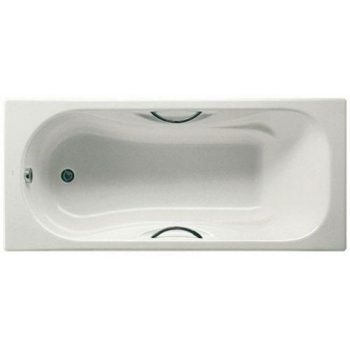 Ванна чугунная Roca MALIBU 170*75см с ручками, без ножек Акция!
