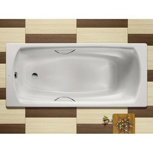 Ванна стальная Roca SWING 180х80см прямоугольная, с ручками,без ножек