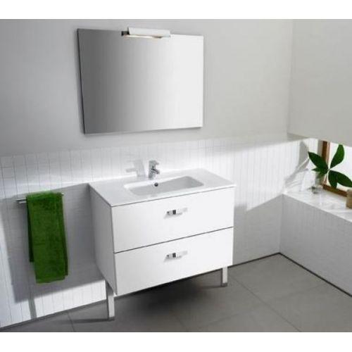 Шкафчик с умывальником Roca VICTORIA 70см, белый