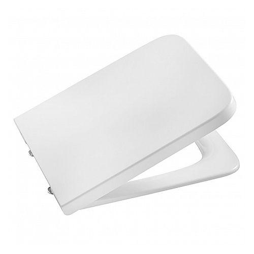 Roca INSPIRA Square крышка с сидением для унитаза, квадратная, soft closing