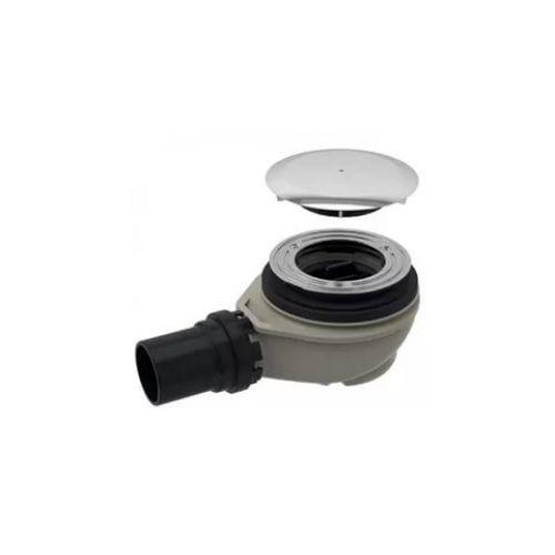 Geberit Сифон для душевого поддона d90, с крышкой, хром глянец