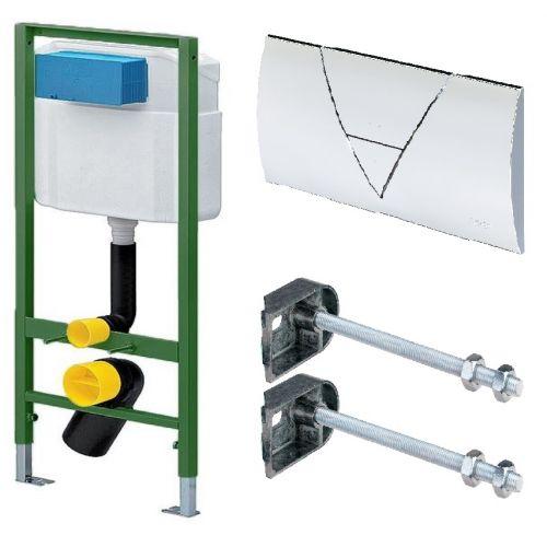 Комплект инсталяции для подвесного унитаза Standart Viega 3в1