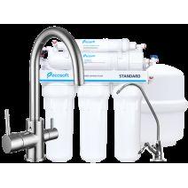 Комплект: Imprese DAICY-U смеситель для кухни, Ecosoft Standart система обратного осмоса (5ти ступенчатая)