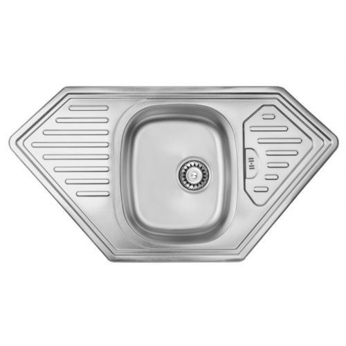 Кухонная мойка Ula 7801 ZS Satin SD00001141