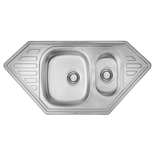 Кухонная мойка Ula 7802 ZS Micro Decor SD00001142