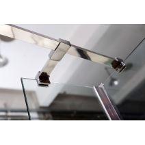 Держатель стекла (Е) с креплениями VOLLE длинной 300мм