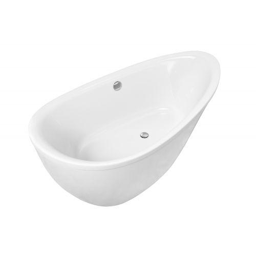 Ванна отдельно стоящая VOLLE 1800*900*685мм, акриловая, с сифоном
