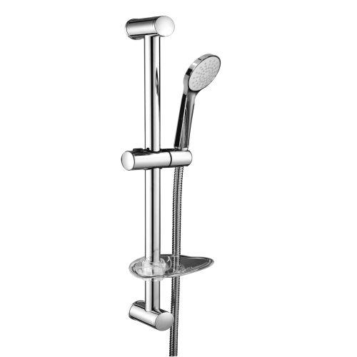 Штанга душевая VOLLE NEMO L-67см, мыльница, ручной душ 1 режим,шланг 1,5м