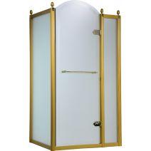 Душевая кабина VOLLE GRAND TENERIFE с распашной дверью, в золоте, без поддона 1200*800*2000мм, правая
