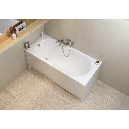 Ванна акриловая прямоугольная Cersanit NIKE 160X70 с ножками