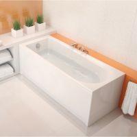 Ванна акриловая прямоугольная Cersanit FLAVIA 170х70