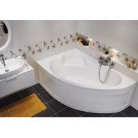 Ванна акриловая асимметричная Cersanit KALIOPE 153 X 100 см левая / правая