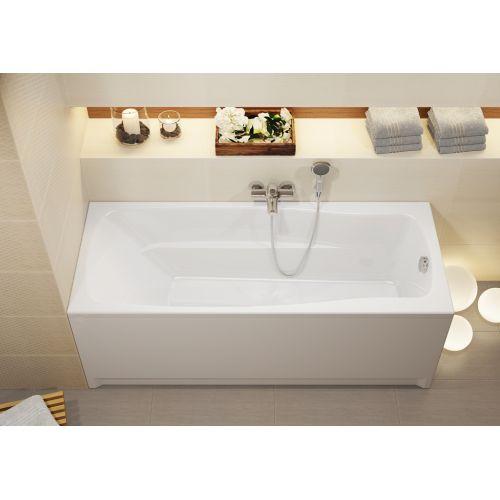 Ванна акриловая прямоугольная Cersanit LANA 160X70 с ножками