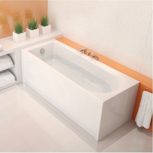 Ванна акриловая прямоугольная Cersanit FLAVIA 150Х70