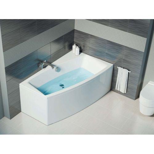 Ванна акриловая угловая Cersanit Virgo Max 160x90 левая / правая с ножками