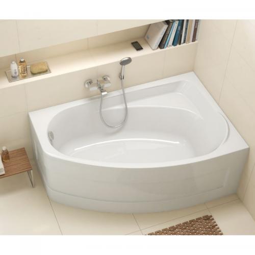 KOLO MYSTERY ванна асимметричная 150*95см левая/правая с ножками