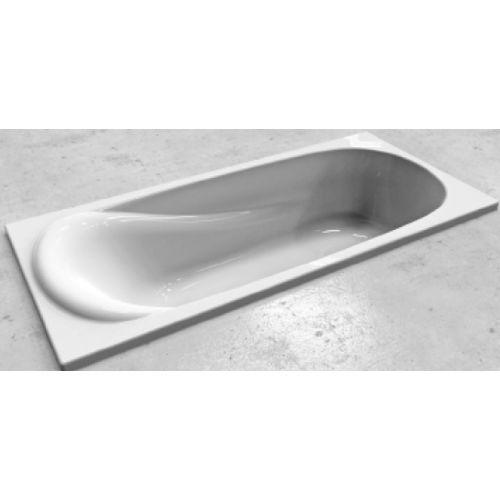 KOLO SAGA ванна прямоугольная 160*75 см с ножками и элементами крепления