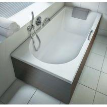 KOLO MIRRA ванна прямоугольная 170*80 см, с ножками, элементами крепления и подголовником