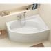 KOLO MYSTERY ванна асимметричная 140*90см левая/правая в комплекте с ножками и элементами крепления