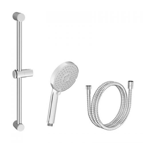 Набор для ванны - лейка руч. душа Flat M, шланг из крепкого пластика 150 см, держатель короткий Ravak 903.00