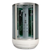 Гидробокс Miracle с электроникой, 115 х 115 см, профиль сатин, стекло серое