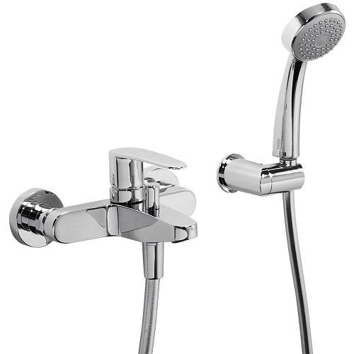 Набор для ванны Tres Flat 20417001 (шланг, д/головка, держатель)