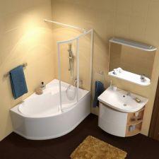 Стеклянные шторки для ванной от компании Ravak: стиль, практичность, эффектность