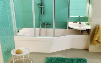 Ванна и душ Ravak: комфорт и практичность 2-в-1
