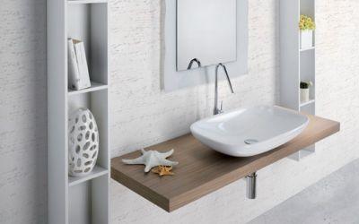 Как избежать ошибок при выборе столешницы в ванную комнату