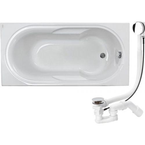Kolo LAGUNA ванна прямоугольная 170*80 см,с ножками+сифон Viega Simplex для ванны